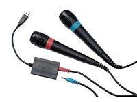Singstar Microphone for PS3 + DefJam Rapstar game