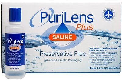 Purilens Plus Solution (12 Pack) Brand New!!