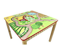 Hand painted Kids Playtime Table - 'Fantasy Fields' by Teamson