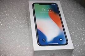Iphone X bnib unlocked