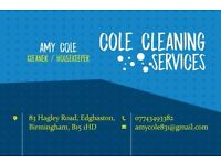 COLE CLEANING SERVICES