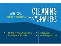 COLE CLEANING SERVICES for £8 - £10