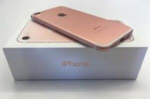 Open Box IPHONE 7 32gb Rose Gold►Unlocked $ 550with accessories