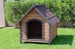 LARGE DOG HOUSE KENNEL WOOD NEW MANY SIZES Kewdale Belmont Area Preview