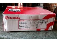 Pair of Front Brembo Brake Discs - Brand New