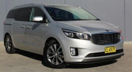 2017 Kia Carnival YP MY18 SLi Silver 6 Speed Sports Automatic Wagon