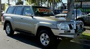 2006 Nissan Patrol GU IV ST (4x4) Gold 4 Speed Automatic Wagon Hillcrest Port Adelaide Area Preview