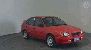 1998 Toyota Corolla AE112R Conquest Lucifer Red 5 Speed Manual Liftback Perth Airport Belmont Area Preview