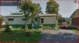 Maison mobile à vendre Baie-St-Paul