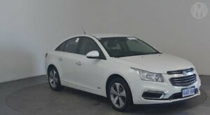 2016 Holden Cruze JH MY16 Z-Series Heron White 6 Speed Automatic Sedan Perth Airport Belmont Area Preview