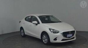 2017 Mazda 2 DJ MY16 Maxx White 6 Speed Automatic Sedan