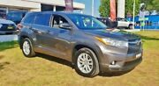 2015 Toyota Kluger GSU55R GX (4x4) Predawn Grey 6 Speed Automatic Wagon Inverell Inverell Area Preview