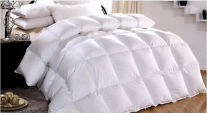 Hutterite Hand made Feather/down duvets. CANADIAN MADE