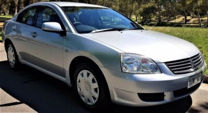 2005 Mitsubishi 380 DB Silver 5 Speed Sports Automatic Sedan Medindie Walkerville Area Preview