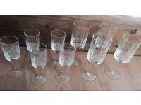 Sherry glass set