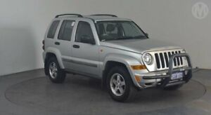 2005 Jeep Cherokee KJ MY2005 Renegade Bright Silver 5 Speed Automatic Wagon Perth Airport Belmont Area Preview