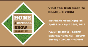 20% Off at the RGS Showroom AND Home & Outdoor Show Booth!