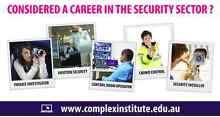 Reinvent your future through a career in the Security Sector Spring Hill Brisbane North East Preview