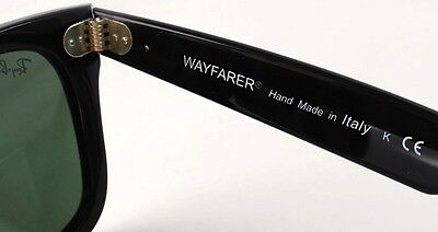 ray ban sunglasses italy  how to spot fake/replica ray ban wayfarer 2140