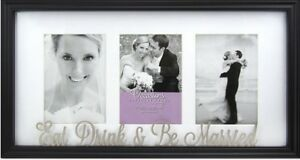Eat Drink & Be Married wedding frame
