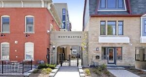 Luxury Two-Storey condo in quiet part of Byward Market