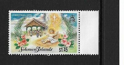 1995 Solomon Islands - Christmas Issue - Single Stamp - MNH.