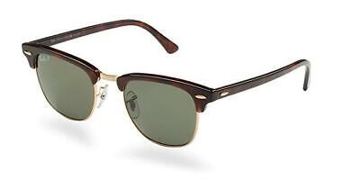 RAY BAN Clubmaster RB 3016 990-58 49mm Sunglasses Tortoise/G15 Green Glass (Ray Ban Clubmaster Small)
