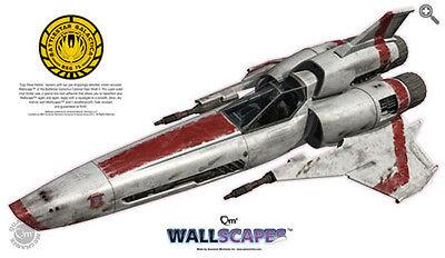 "Battlestar Galactica Viper Mark II Giant 48"" Wallscape (BGPO-QMX-WALL)"