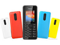 NOKIA 108 UNLOCKED (BOXED AND SEALED,MULTIPLE AVAILABLE)