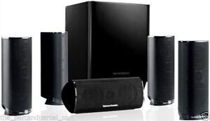 Harman Kardon HKTS 16BQ Complete 5.1 Home Theater Speakers System Black✔NEW✔