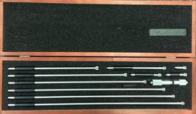 Starrett 823ez Tubular Inside Micrometer 0-40 Range .001 Gradaution