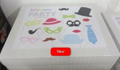1 Box Jabadabado Party 14 Photo Props- RRP £14.99- UK stock- Free Delivery  segunda mano  Embacar hacia Spain