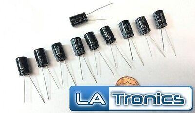 10pc Topmay Electrolytic Radial Aluminum Capacitor 100uf 50v 8x12mm 105c New