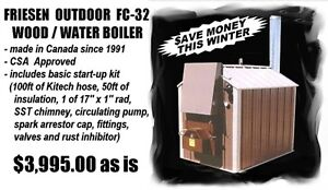 New Wood Fired Outdoor Furnace