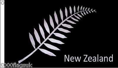 New Zealand Silver Fern 5'x3' Flag