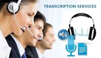 Freelance Transcriptionist Available -Convert  Audio to Text