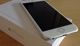 Silver 16GB iPhone 6 [IMMACULATE CONDITION]