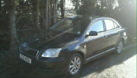 2005 Toyota avensis d4d breaking parts