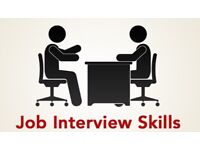 Job interview training and consultation. Free CV review.