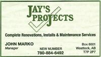 Handyman for residential, commercial, property maintenance,