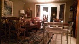 HIGH standard, open plan living, larger than average, 2 bedroom ground floor flat!