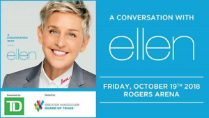 A Conversation With Ellen Tickets - 3 Pairs