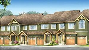 Executive Townhomes in Cambridge, ON coming shortly