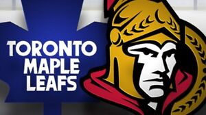 Lower Bowl section 21 Leafs vs Sens tickets