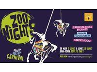 Zoo Nights Tickets