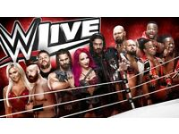 WWE RAW 14/05/2018 - X2 TICKETS BLOCK 110 ROW G