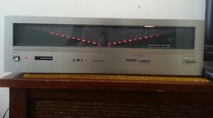 LXI STEREO POWER AMPLIFIERS WITH LED POWER METERS working good