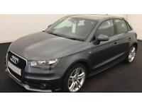 GREY AUDI A1 SPORTBACK 1.6  2.0 TDI SPORT S LINE BLACK EDITION FROM £57 PER WEEK