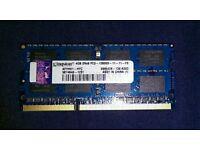 Kingston 4gb 2Rx8 PC3-12800S