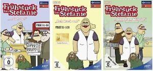 3 DVDs * FRÜHSTÜCK BEI STEFANIE - STAFFEL 1 +  2 + 3  IM SET # NEU OVP ^